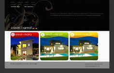 """Web para """"Casas do Areal"""" by Creaciones Curiosas"""