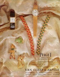 Van Cleef & Arpels (High Jewelry) & Piaget (Watches) 1967 clips animaliers