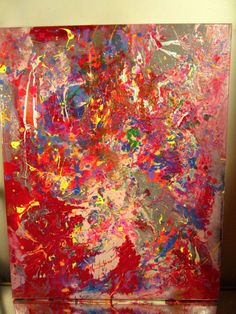 MUSK YAI ABSTRACT SIGNED ORIGINAL 16x20 2015 CANVAS PAINTING EXPRESSIONIST 10AK #Abstract