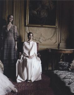 shot by deborah turbeville for vogue italia