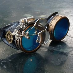 Steampunk-Brille