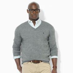 Men\u0026#39;s Big and Tall Sweaters | Cardigans, V-Neck, Crewneck | Ralph Lauren