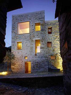 Renovated stone house in Switzerland