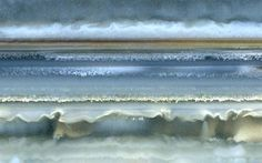 Mineral images: Rock formation art: Parallel bands in agate