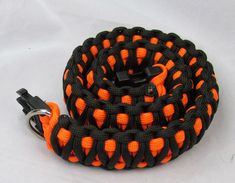 Paracord dog collar tutorial