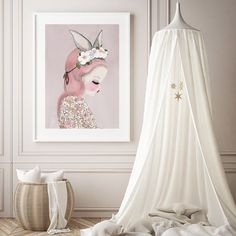 Some stunning nursery/kids room art inspiration courtesy of 'Bilby Belle' from Violet Eyes. This super sweet poster print has the Block Shop office swooning (and at $59 it's not going to break the budget!) Shop the link in our profile for more kids art. #theblockshop #9theblock #art #wallart #nursery #kidsroom #kidsdecor