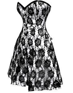 Gothic Corset Dress - When gothic fashion get's sexy!