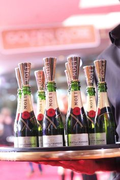 Moet is super awesome too, but pricey pricey! I want those little sipper things!!!!