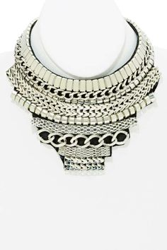 Linkage Collar Necklace