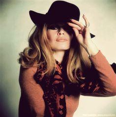 Brigitte Bardot 60's style.