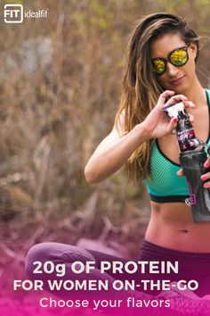 Women deserve a protein shake made for them. IdealLean Protein meets a woman's unique nutritional needs and helps your body recover from any challenge you take on.