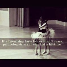 Friends for life. .....