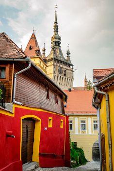 15 Colourful European Towns You Need To Visit - Arrivals & Departures Travel Info, Travel Ideas, Travel Inspiration, Visit Romania, Transylvania Romania, Hiking Tours, Travel Around Europe, Photography Tours, Pub Crawl