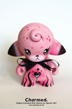 """Charmed"" custom mini Munny by Squink!"