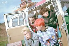 BTS Young Forever Concept Photo Photoshoot Suga, Jin, Jungkook, and Taehyung