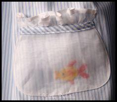 Cute pocket on alittle girl's dress.