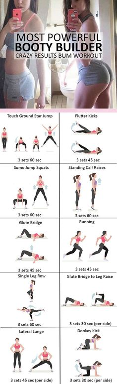 Booty Building Workout | Posted By: NewHowToLoseBellyFat.com
