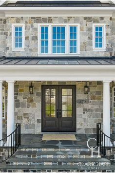 The doors and windows on your home exterior paint a picture—so why not make it personal? Partner with Clark Hall to kick off the custom design process at one of our showrooms. Traditional Styles, Traditional Doors, Contemporary Design, Modern Design, Custom Design, Clark Hall, Double Front Entry Doors, Types Of Houses, Exterior Paint