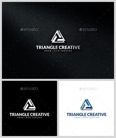 Triangle Creative -   Logo Design Template Vector #logotype Download it here: http://graphicriver.net/item/triangle-creative-logo-template/13690045?s_rank=370?ref=nexion