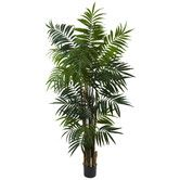 Found it at Wayfair - Nearly Natural Bulb Areca Palm Tree in Pot