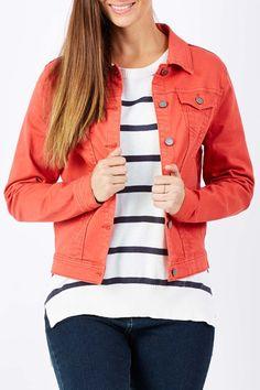 Gordon Smith clothing Coloured Denim Jacket - Womens Jackets - Birdsnest Online