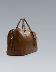 LUXURY TRAVEL BAG - Bags - Man - ZARA United States