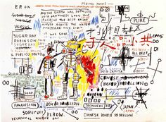 Boxer Rebellion, 1983 Jean-Michel Basquiat