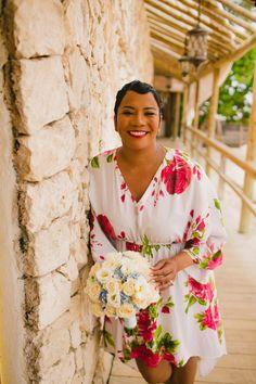 Bridget and Erskine's Beautiful Beach Wedding in The Dominican Republic http://munaluchibridal.com/bridget-and-erskine-wedding/