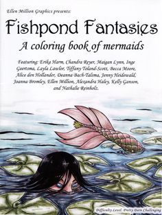 Fishpond Fantasies Coloring Book