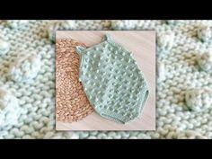Knitting For Kids, Tricot, Craft, Girls Dresses, Baby Knitting, Tutorials