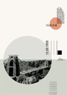 Architecture Portfolio Discover Malcolm Turner From a series of posters based on Bristol cityscapes by Malcolm Turner Suspension Bridge 1 Landscape Architecture Model, Architecture Portfolio Layout, Architecture Drawing Plan, Architecture Drawing Sketchbooks, Conceptual Architecture, Architecture Collage, Design Portfolio Layout, Layout Design, Web Design