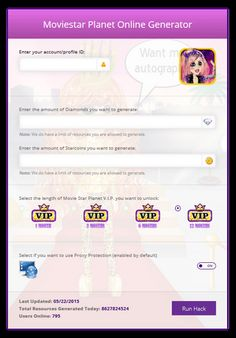 MovieStarPlanet Hack Tool that generates unlimited MovieStarPlanet free starcoins and diamonds. Stop by our site and start using our MSP Hack Tool Today. Android Hacks, Hack Tool, Fnaf, Cheating, Kisses, Movie Stars, Planets, Chloe, Diamonds