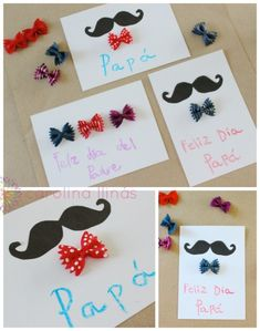 The next March 19 is celebrated in Spain on Father's day and children love to prepare gifts made by themselves To entertain dad. If you are looking crafts Diy Gifts For Mom, Gifts For Coworkers, Homemade Gifts, Pop Up Art, Daddy Day, Father's Day Diy, Fathers Day Crafts, Diy Cards, Diy For Kids