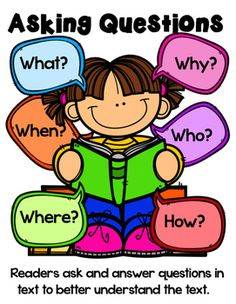 Asking and answering questions in text seems like a simple task yet primary students often need a visual reminder This small bundle gives you the perfect visual reminder. Anchor Charts First Grade, Ela Anchor Charts, Reading Anchor Charts, Reading Strategies, Reading Activities, Reading Skills, Reading Comprehension, Reciprocal Teaching, First Grade Reading