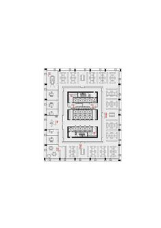 gmp Designs New Headquarters for CNPEC in Shenzhen, China,Standard Floor Plan 1:300