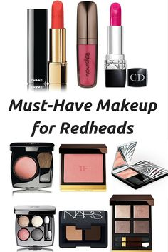 Best Makeup for Redheads | How to be a Redhead