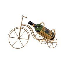 Porta Garrafa em Ferro Decorativo. Dê um toque a mais em sua decoração com essa linda bicicleta porta garrafas. Própria para ambientes internos.