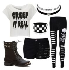 """""""Untitled #19"""" by rawrllamas ❤ liked on Polyvore featuring Paul's Boutique and Charlotte Russe"""