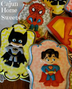 Superhero Cookies | Cookie Connection