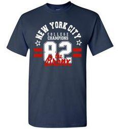 New York City college champions the Bronx cool urban printed t shirt tee