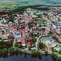 #poland #polska #ketrzyn #kętrzyn #mazury #city #summer #drone #phantom #phantom4 #phantombrothers #love