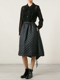 Shirt Quilted Skirt