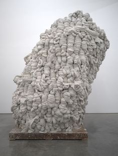 Anish Kapoor, untitiled sculpture from 'Cement Room', 2009 Concrete Sculpture, Art Sculpture, Pottery Sculpture, Abstract Sculpture, Contemporary Sculpture, Contemporary Art, Art Totem, Art Conceptual, Anish Kapoor