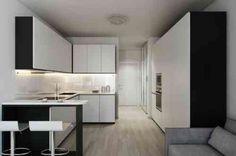 déco de studio : petite cuisine de design contemporain