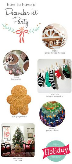 december-1st-party by lulu the baker #freshholidaytraditions december, inspiration, holiday inspir, christmas, holidays, happi holidayzz, bakers, favourit holiday, 1st parti