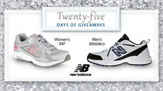Welcome to day 15 of #25DaysofGiveaways  New Balance products blend function and fashion, offering performance technology with style. Win a new pair of New Balance shoes here.