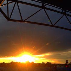 Sunset Curitiba. Paraná. Brasil