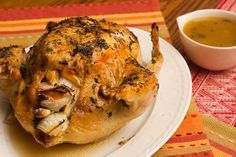 Herb and Lemon Roasted Chicken by Laura Ingalls Wilder