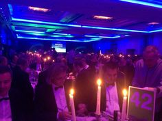 Bring on dinner. Nice view from the back, come and say hello! #ILPAwards