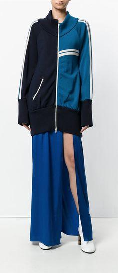 ERIKA CAVALLINI Audie knitted zip jacket, shop now on Farfetch.
